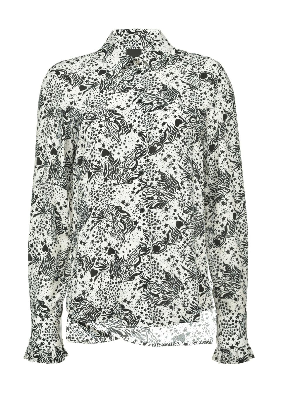 Tarot print shirt - Pinko