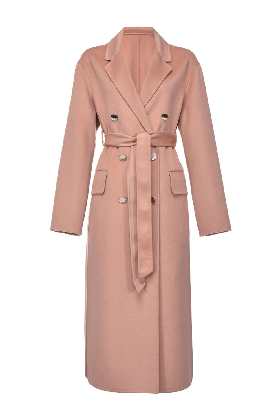 Long double-layer coat