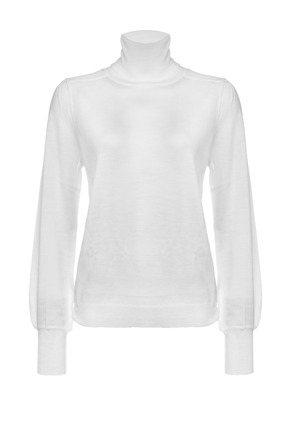 Turtleneck pullover with full sleeves - Pinko