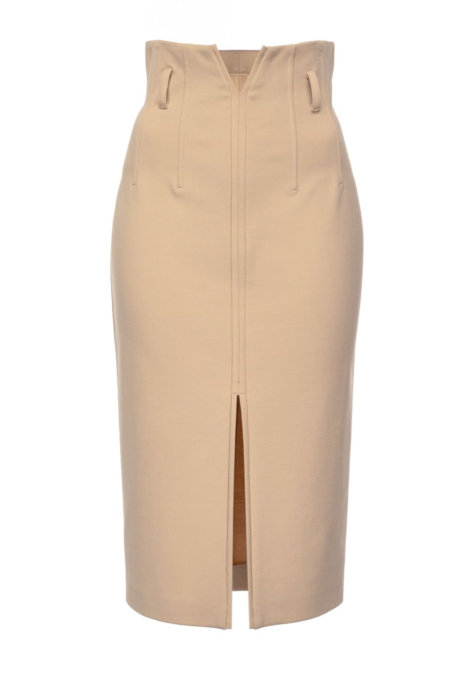 Midi-length skirt with slit - Pinko