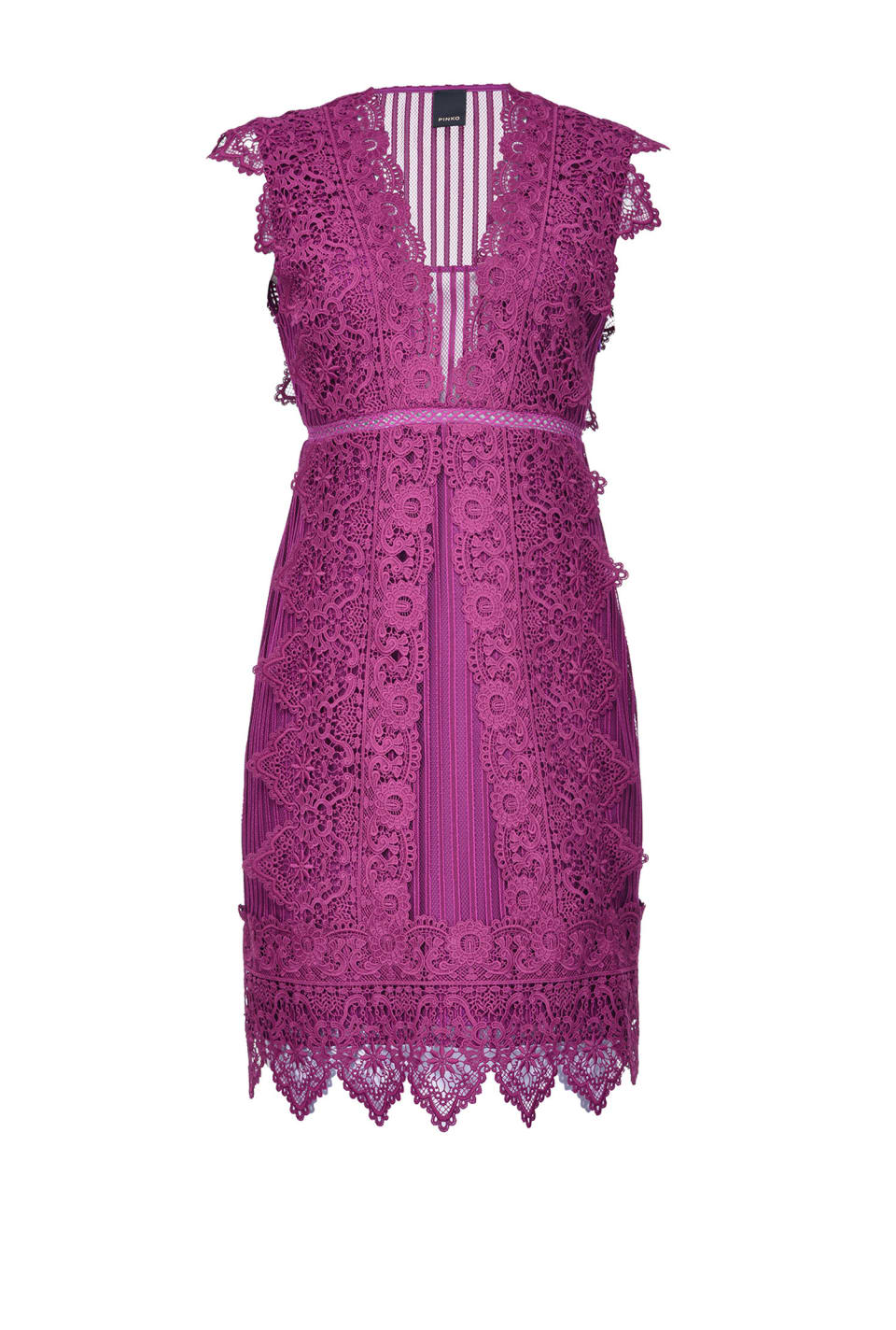 Short macramé dress - Pinko