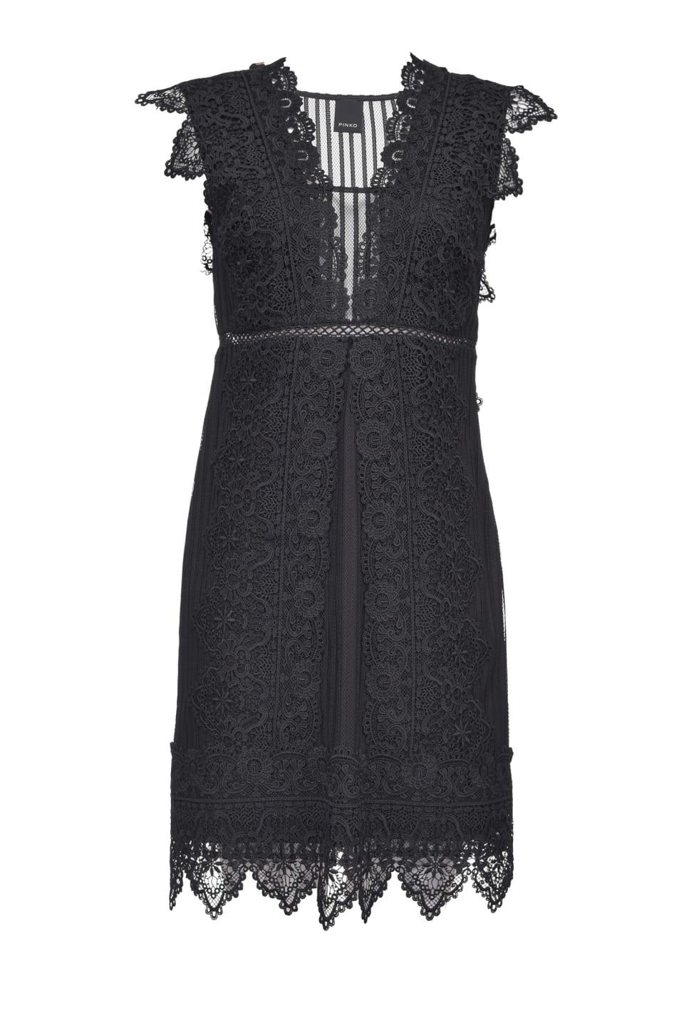 Short macramé dress - Pinko