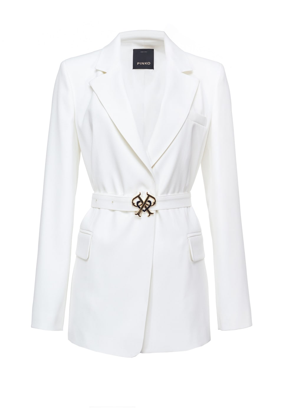Double P blazer with buckle - Pinko