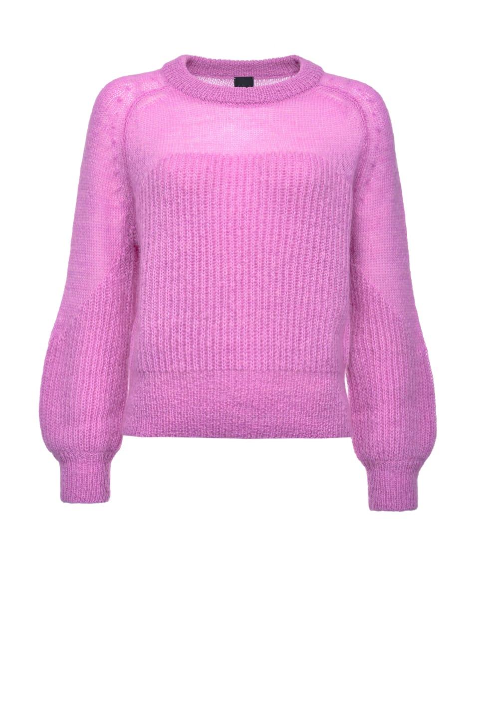 马海毛混纺套头衫 - Pinko