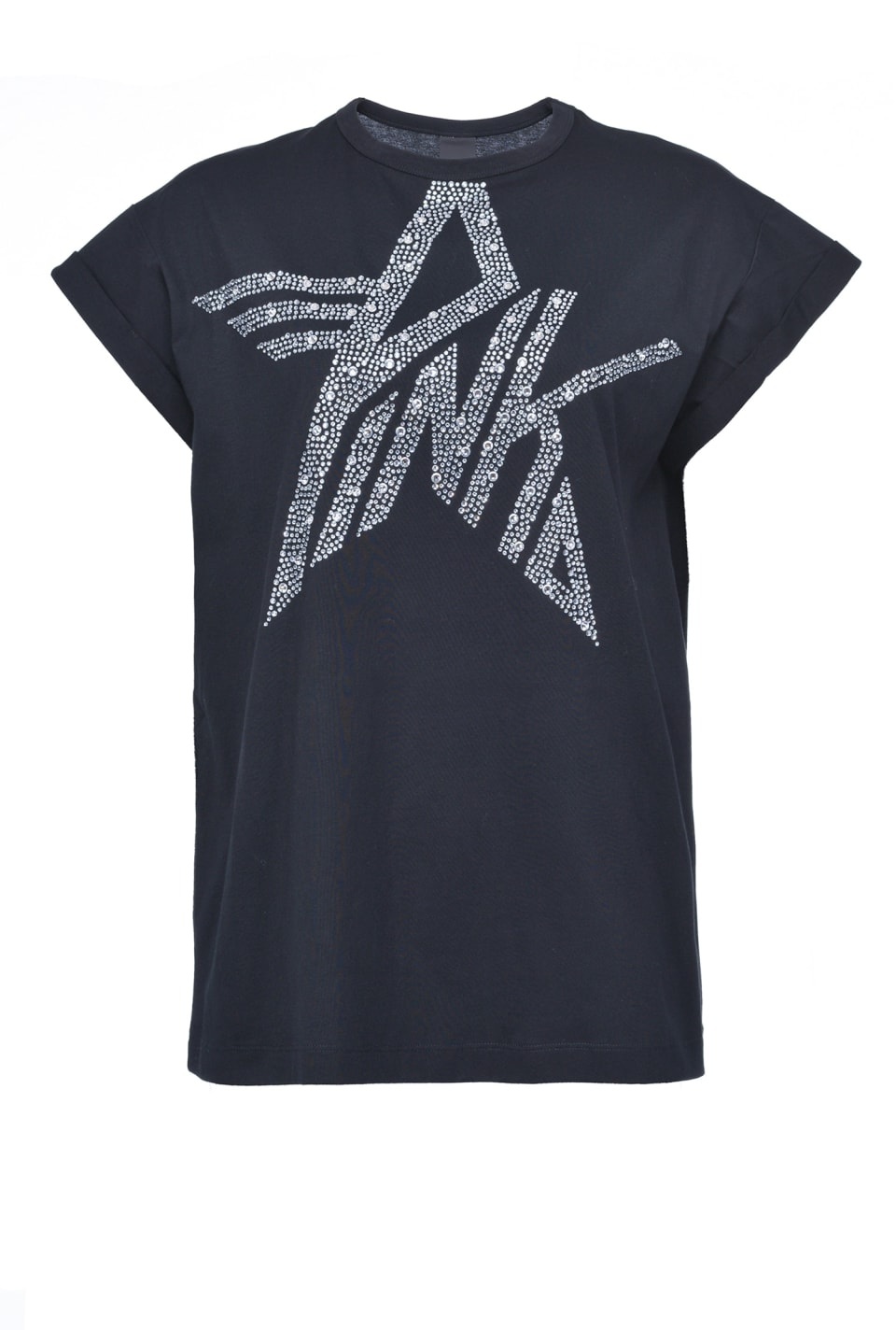 星形PINKO徽标装饰T恤 - Pinko