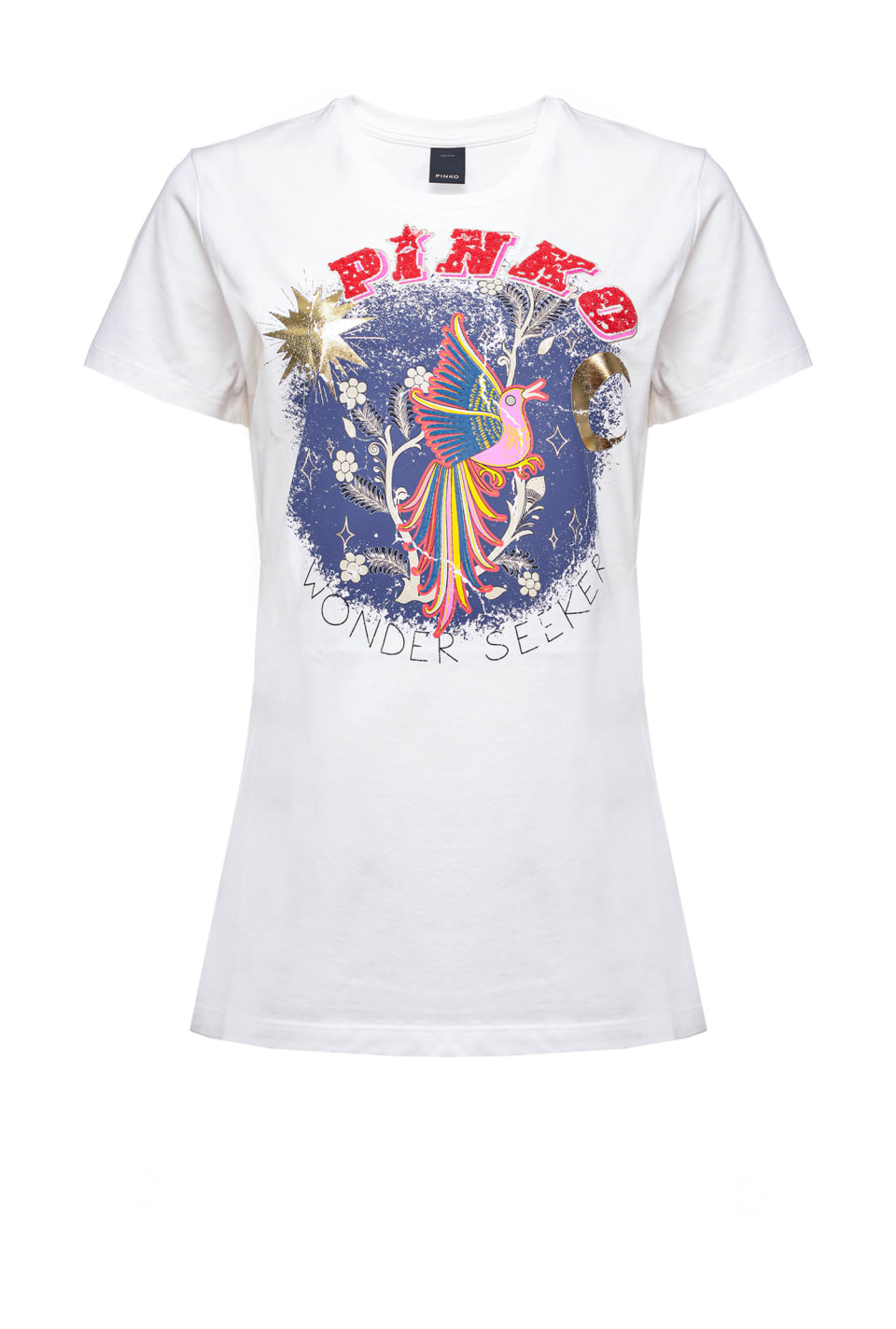 T-shirt « Wonder Seeker » - Pinko
