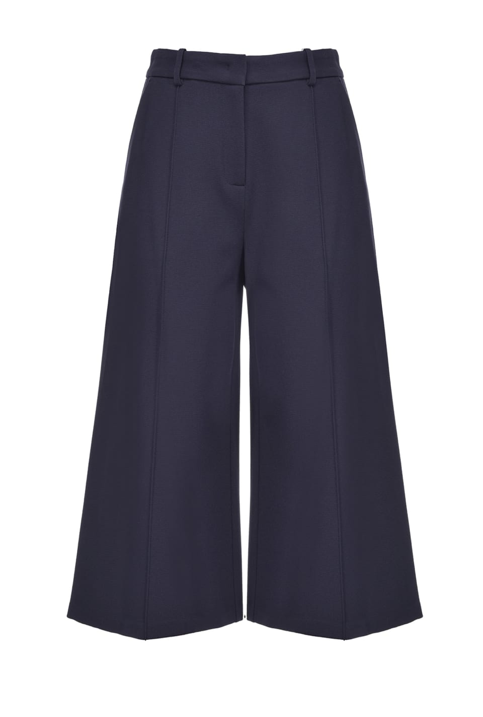 Pantaloni culotte in ottoman - Pinko