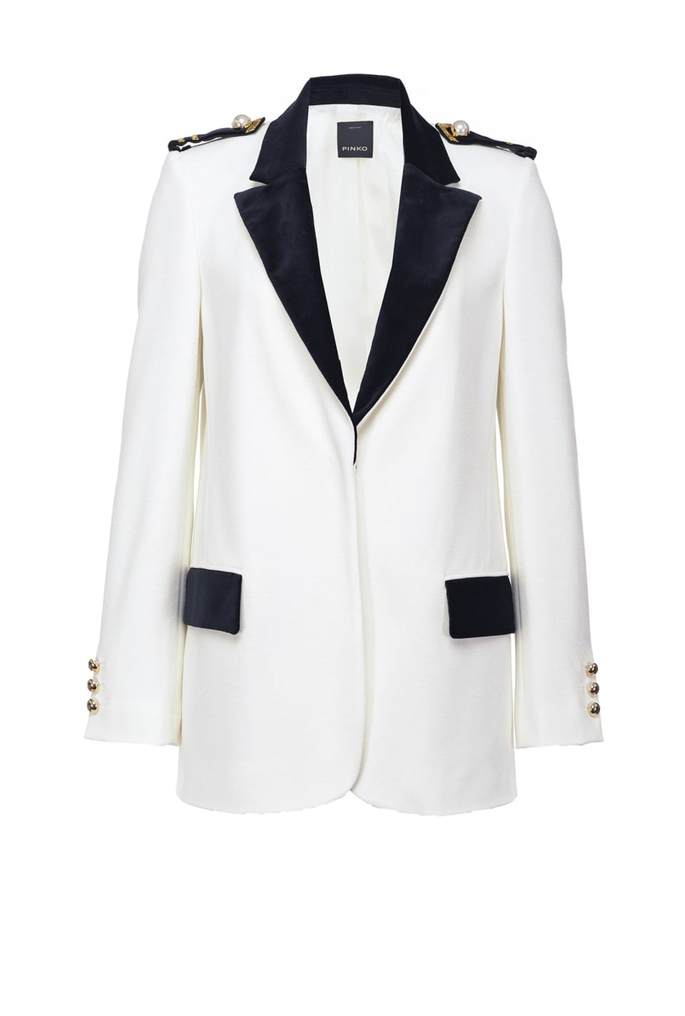 Nautical blazer in ottoman - Pinko