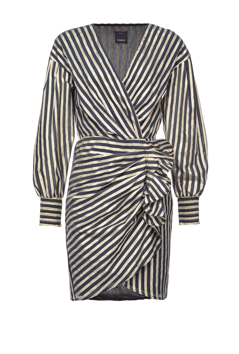 Dress with lurex stripe - Pinko