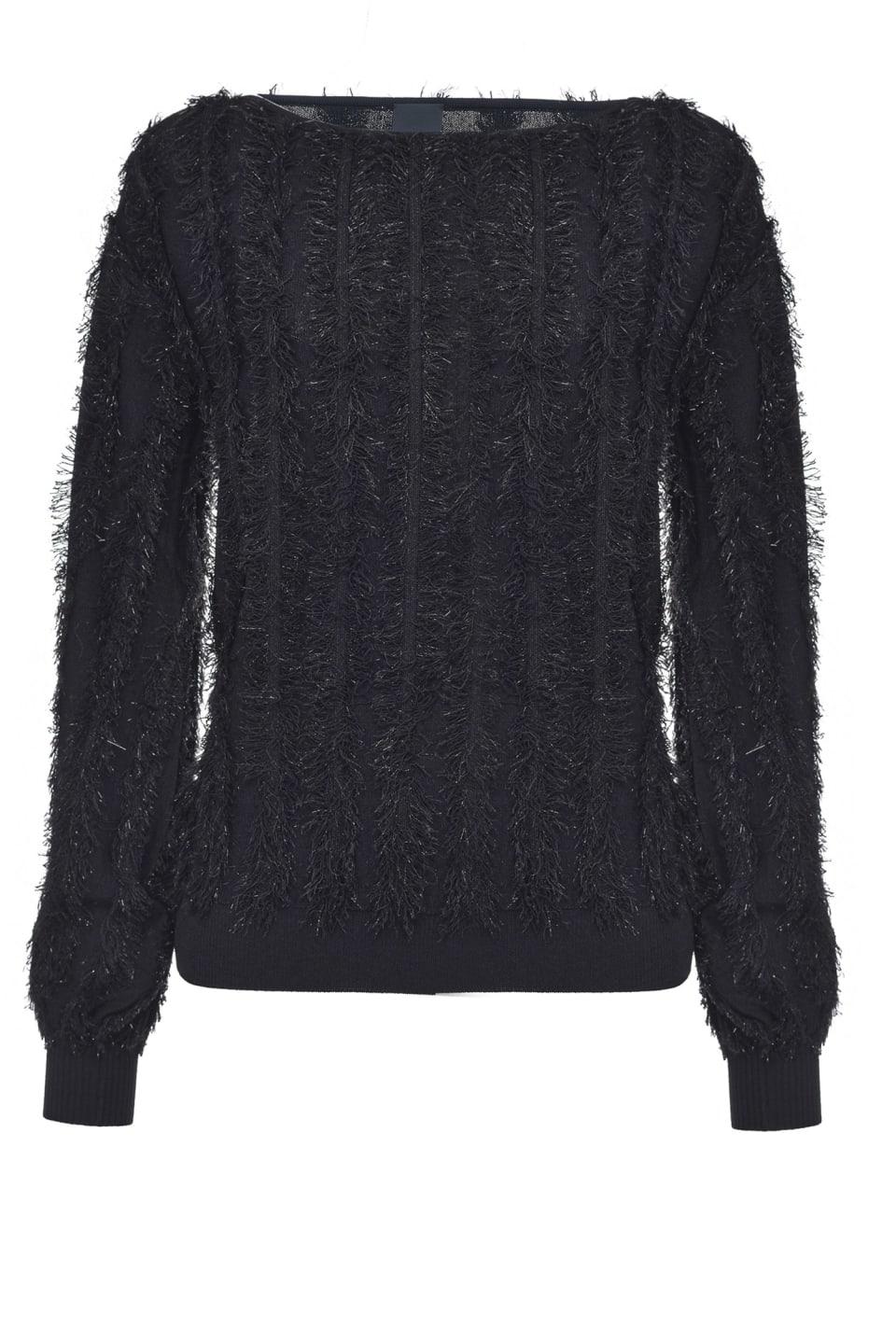 Pullover jacquard lurex - Pinko