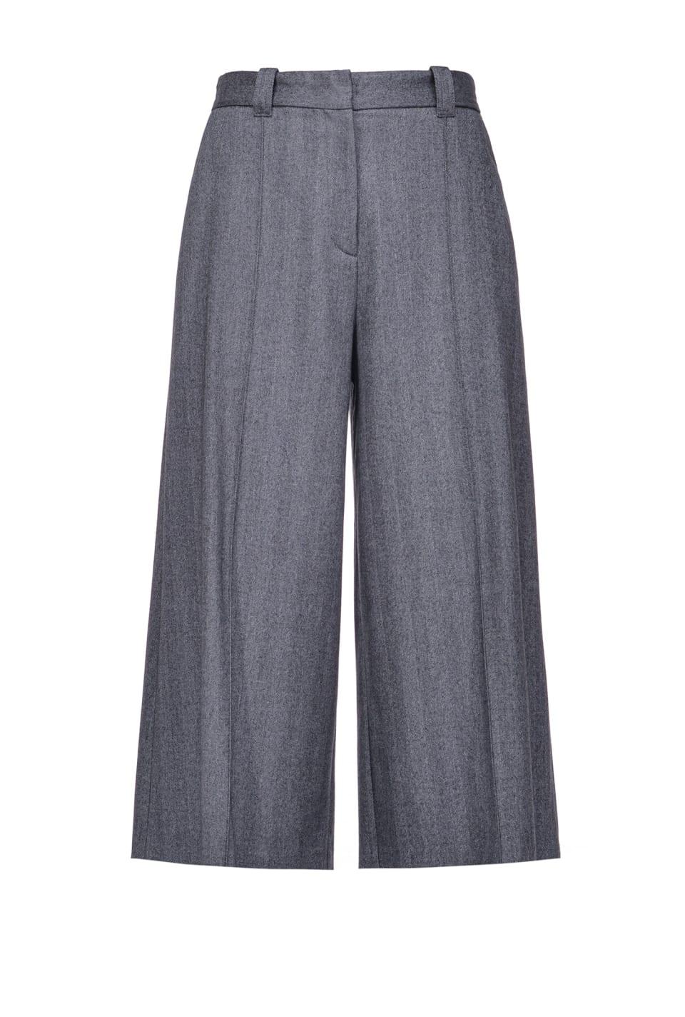 Pantalón culotte motivo chevrón - Pinko