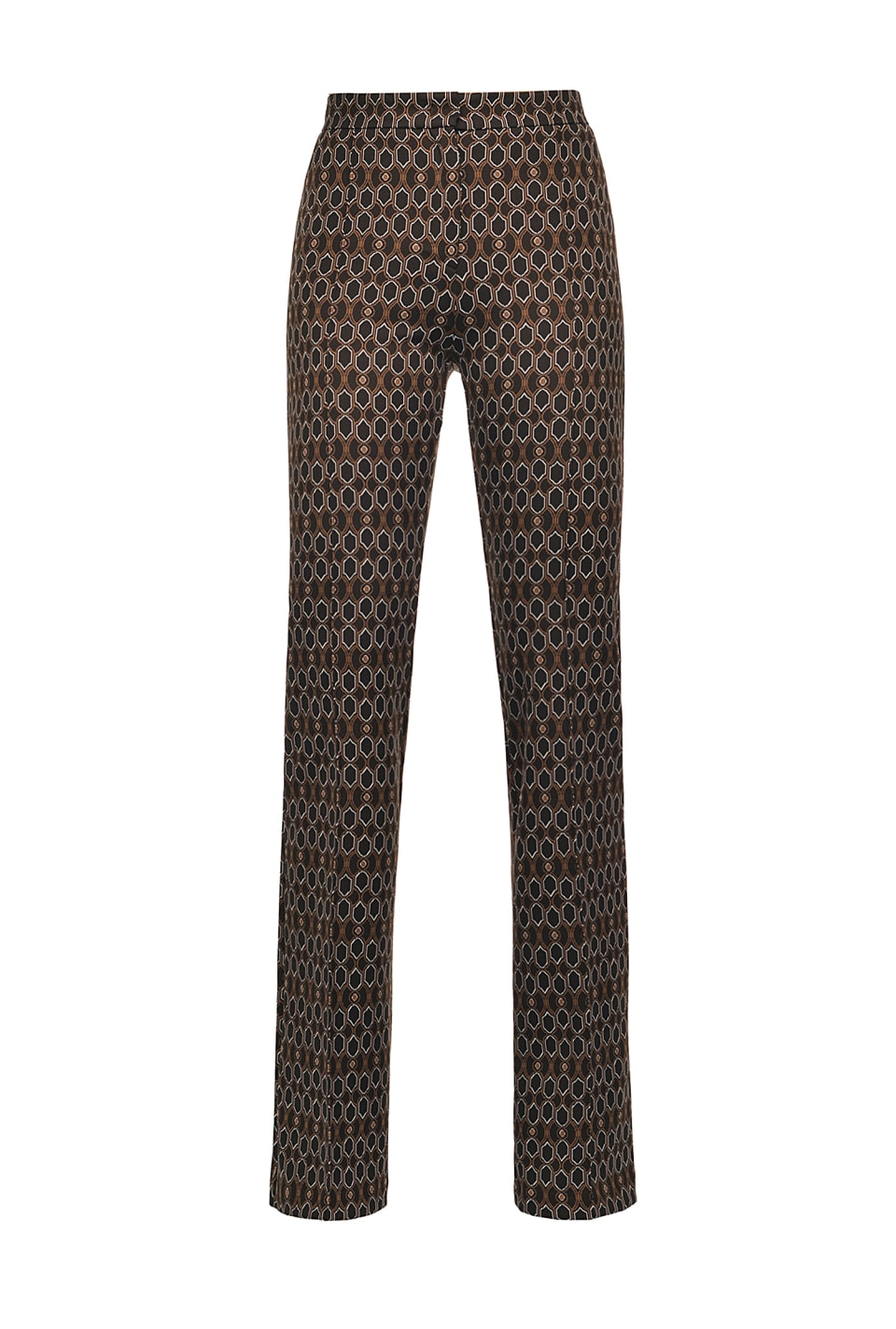 70s geometric pattern trousers - Pinko