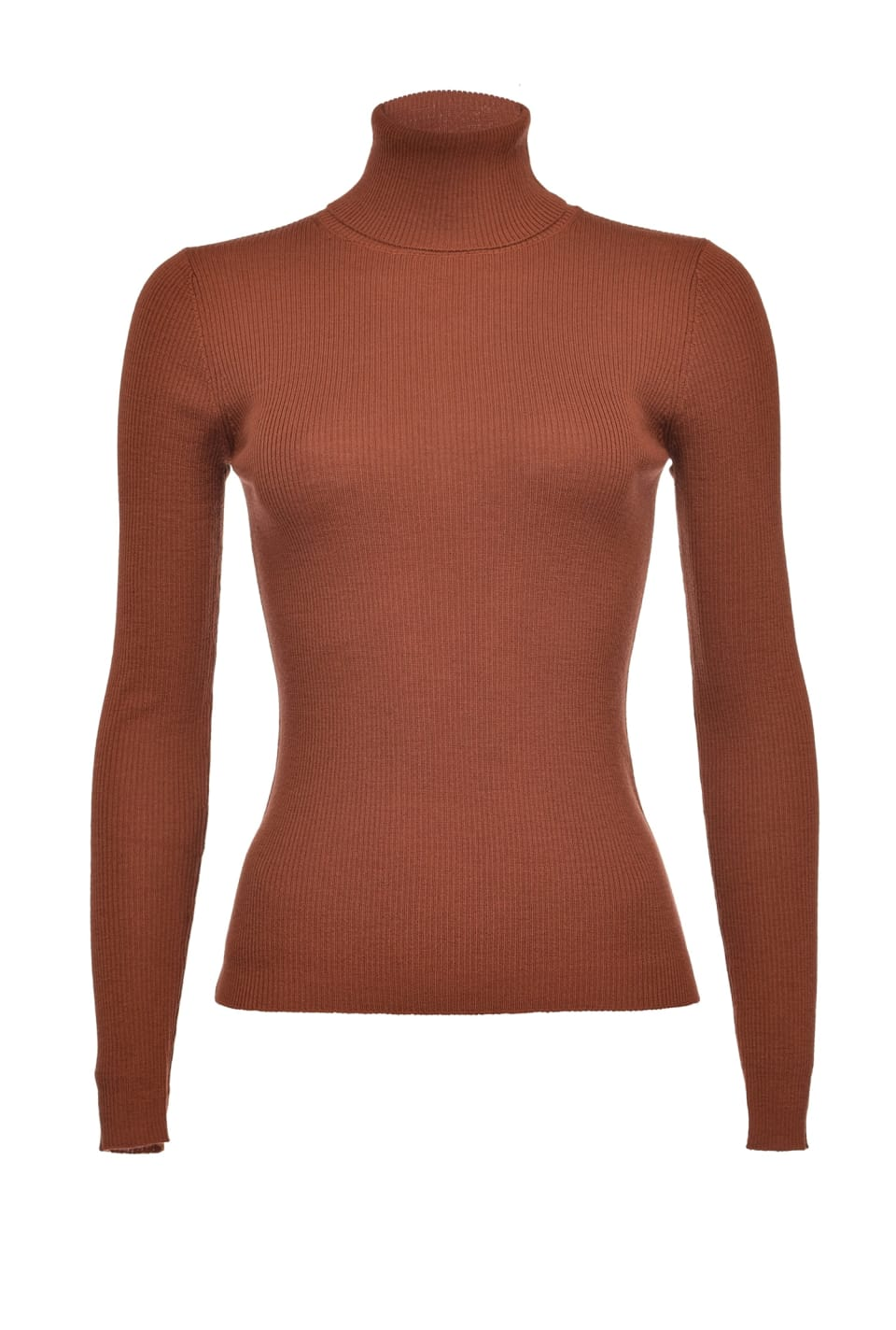 Snug-fitting wool turtleneck sweater - Pinko
