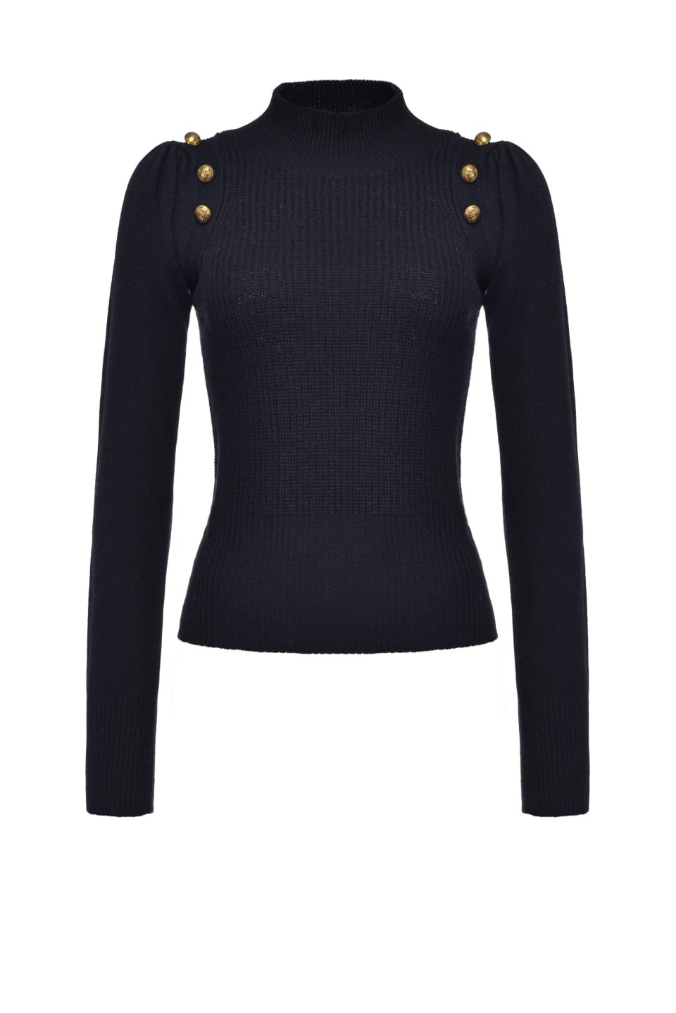 Sailor top with gold buttons - Pinko