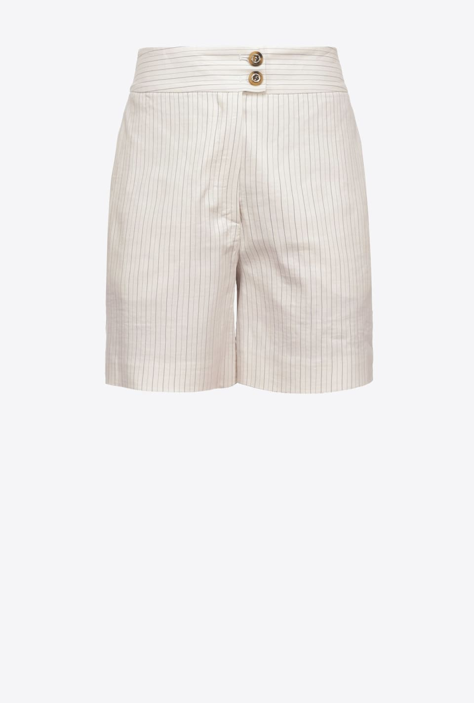 Shorts gessati in lino - Pinko