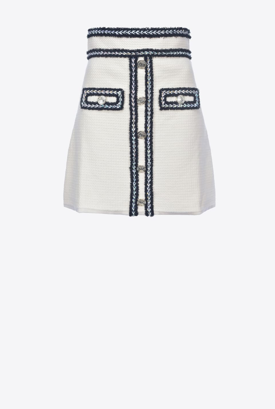 Mini skirt with metal buttons - Pinko