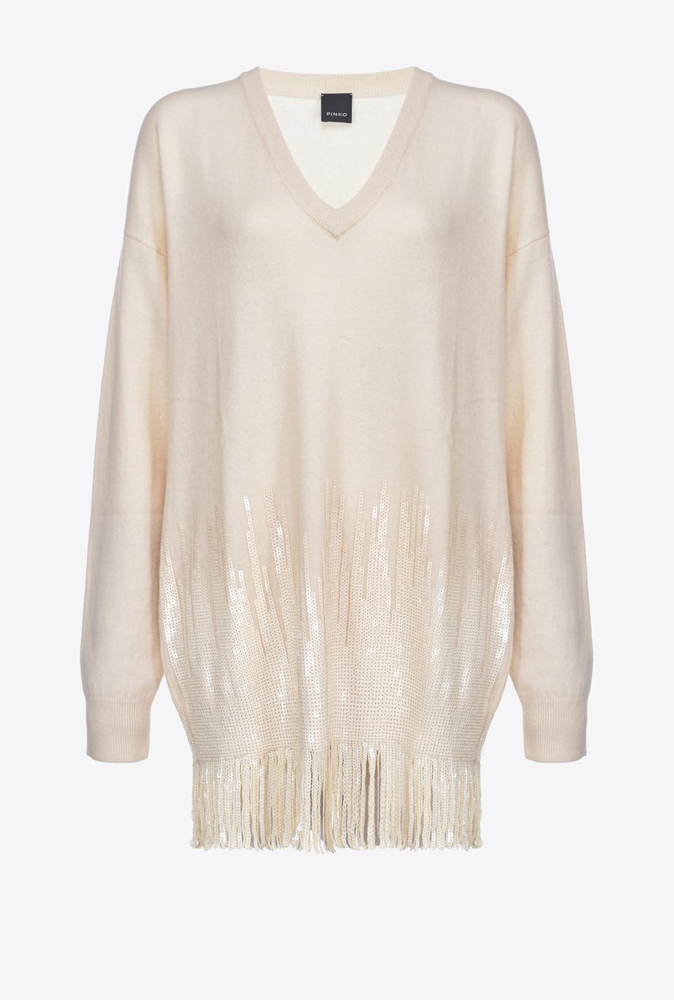 Dress in cashmere and sequins - Pinko
