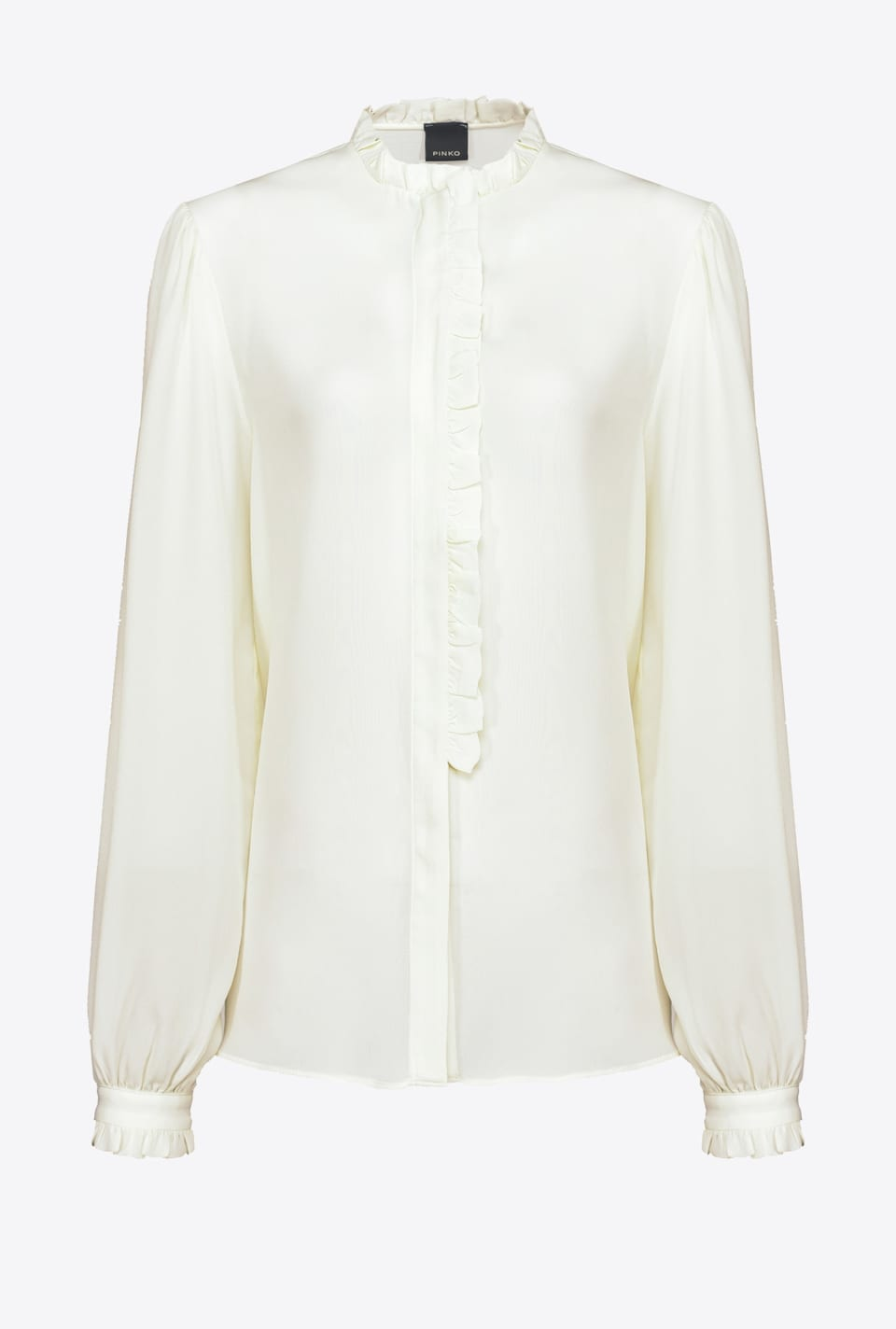 Shirt with ruffles - Pinko