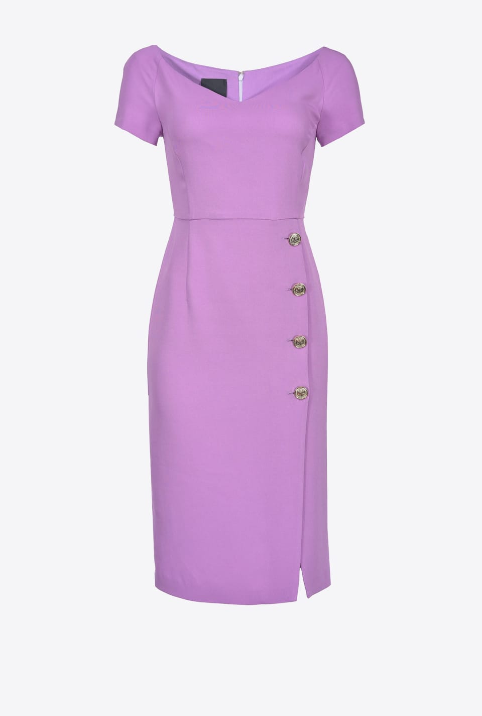 Sheath dress in crêpe - Pinko