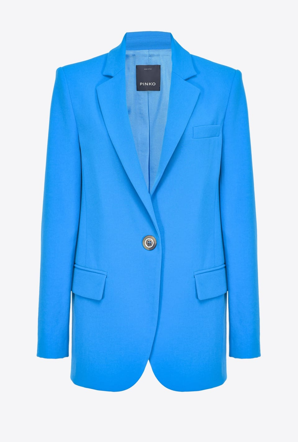Blazer in supple sablé - Pinko