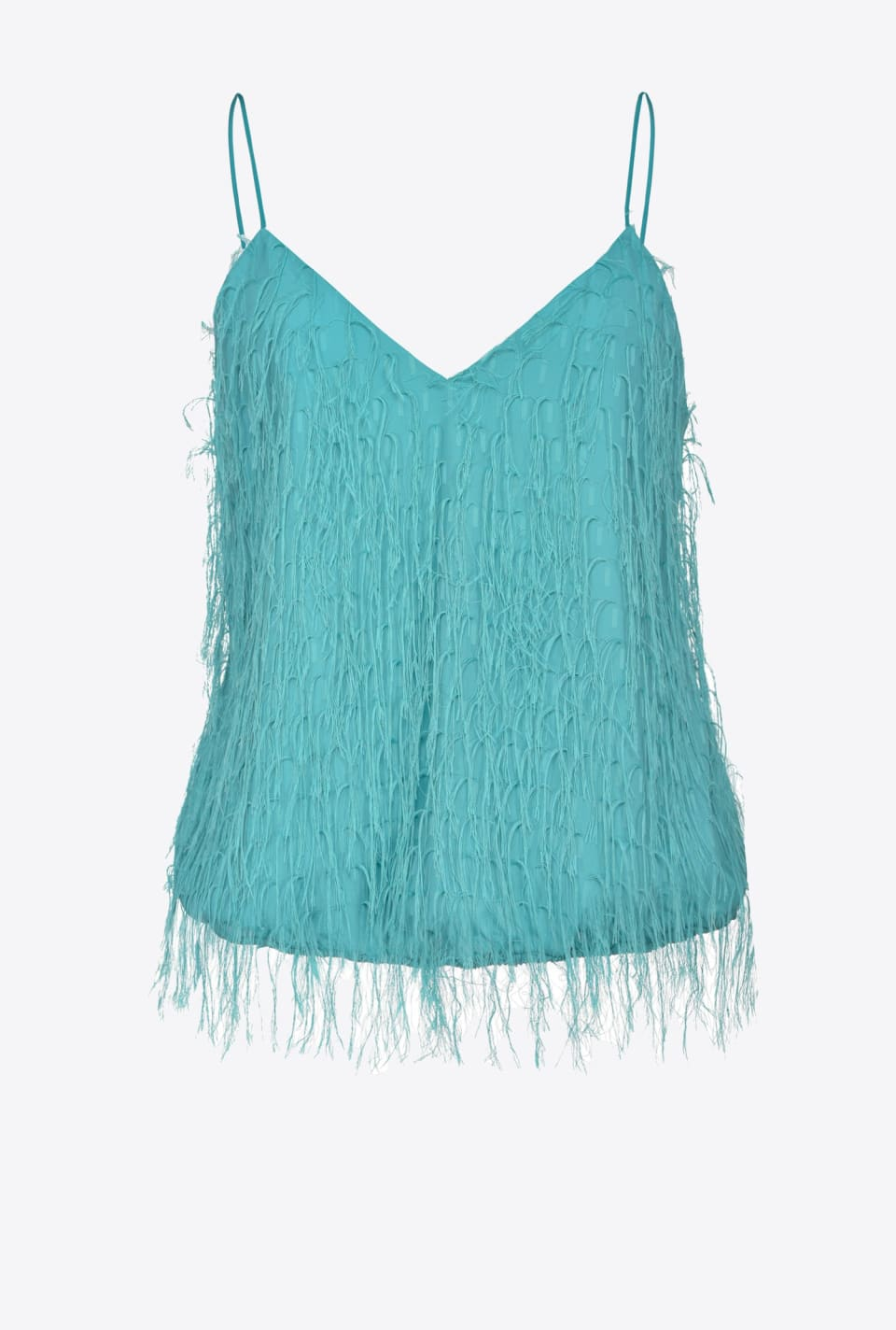 Fil coupé fringed top - Pinko