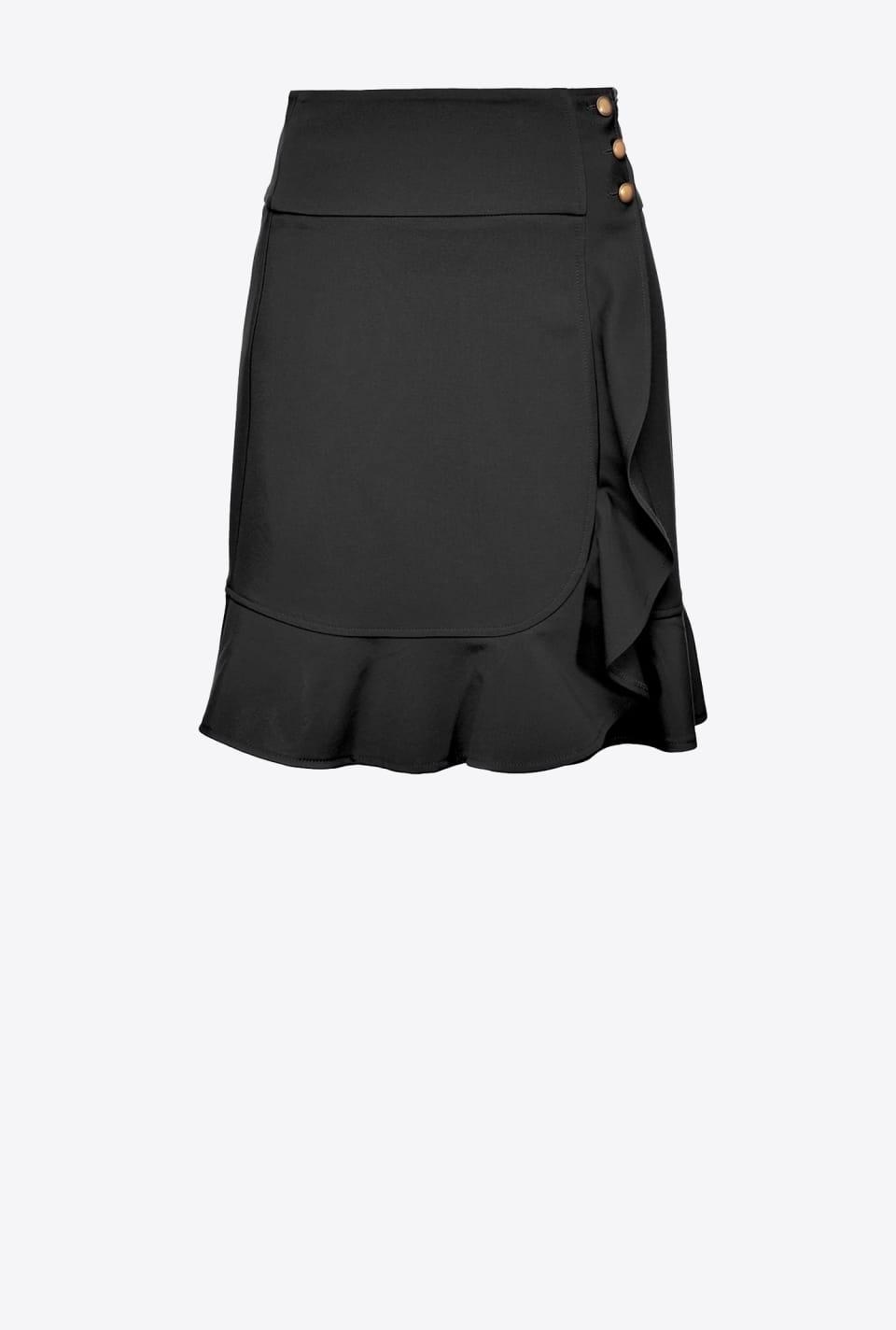 Miniskirt with flounce - Pinko