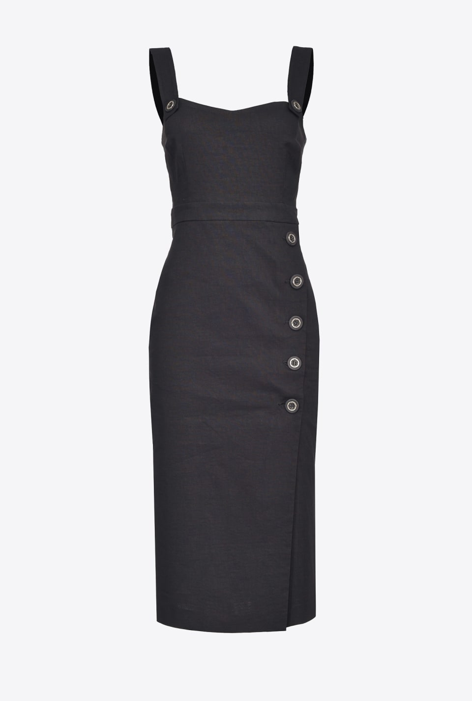 Sheath dress in linen cloth - Pinko