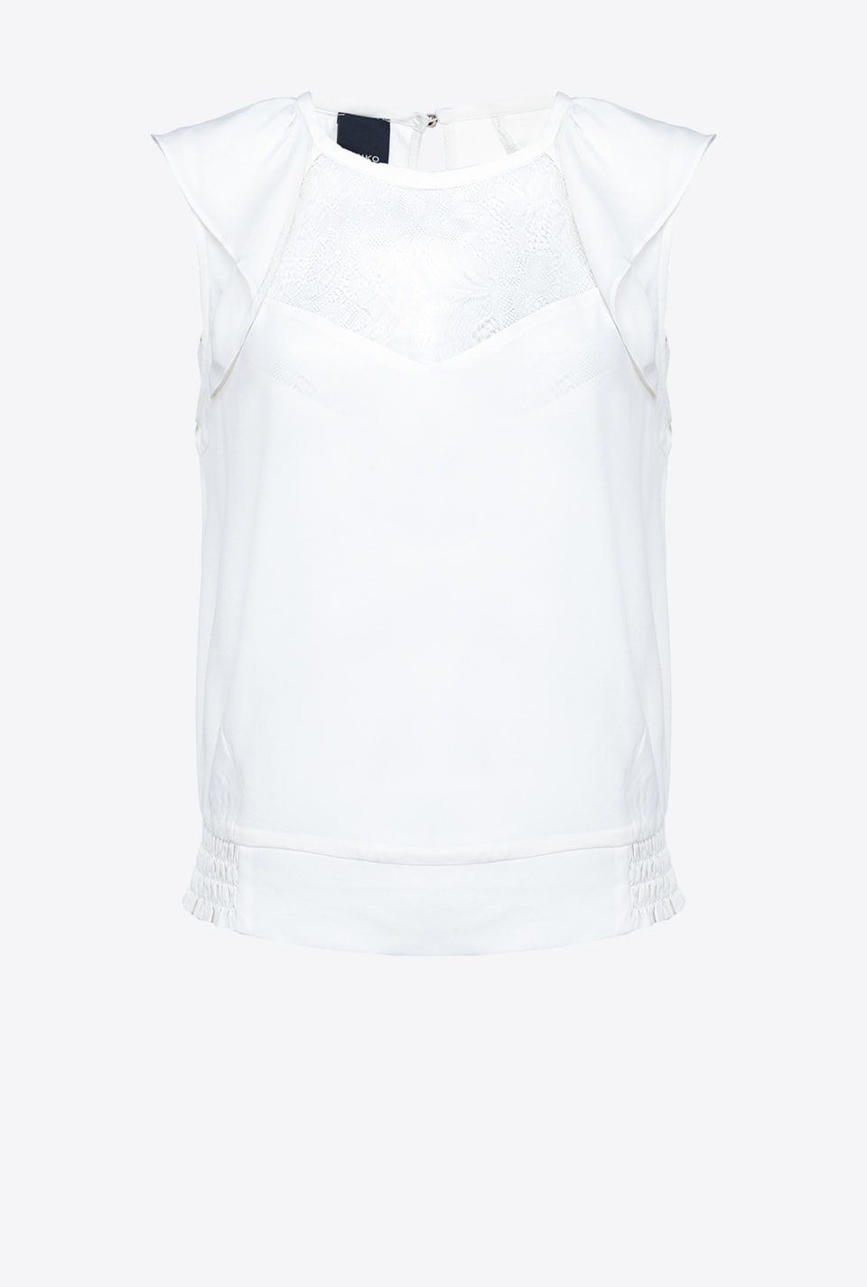 Top with lace on the front - Pinko