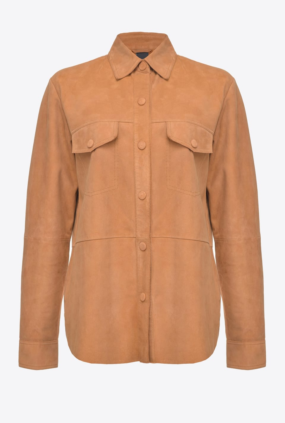 Suede shacket - Pinko