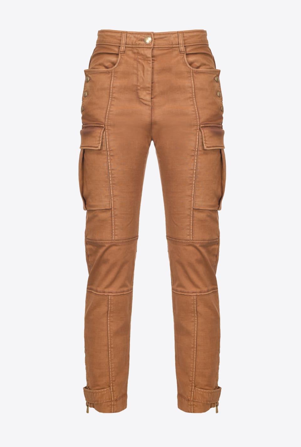 Pantalón cargo con bolsillos - Pinko
