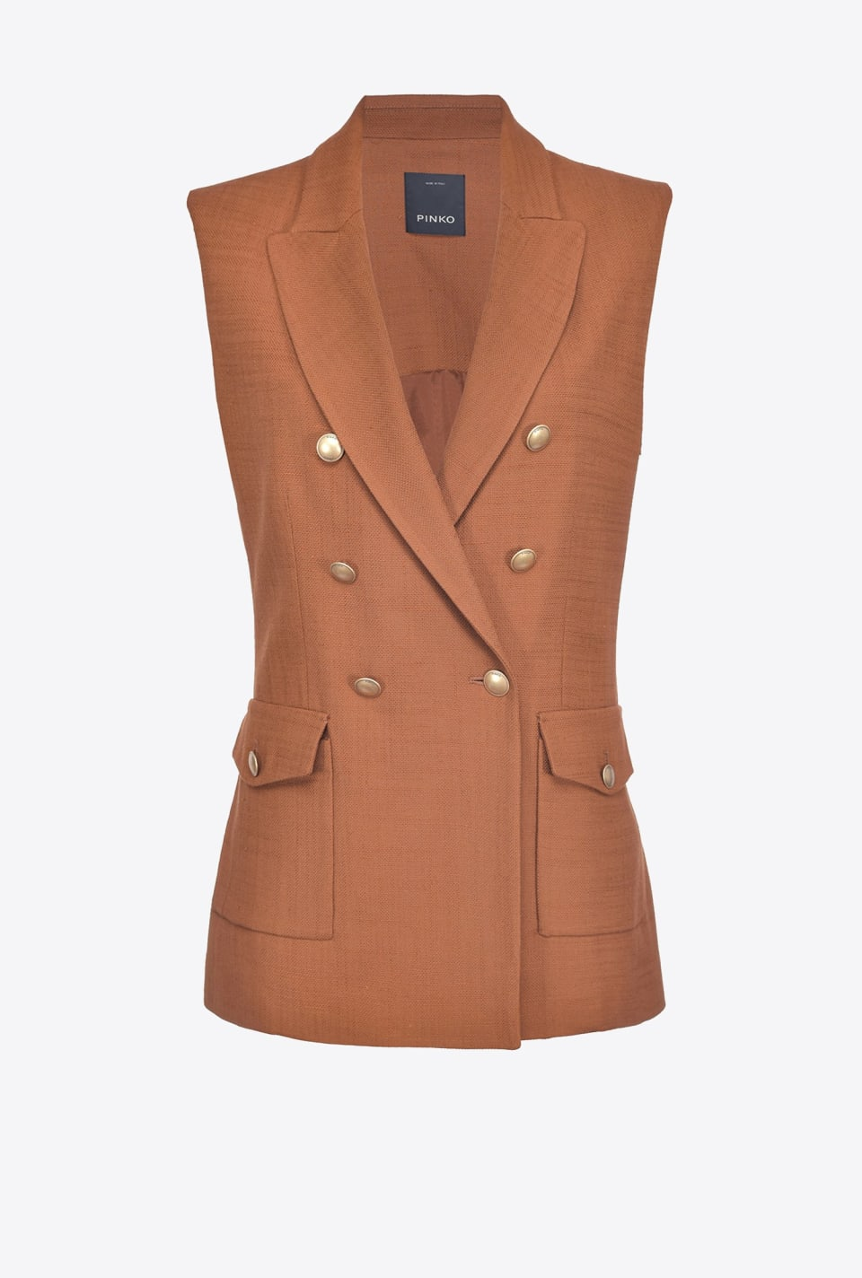 Long gilet jacket - Pinko