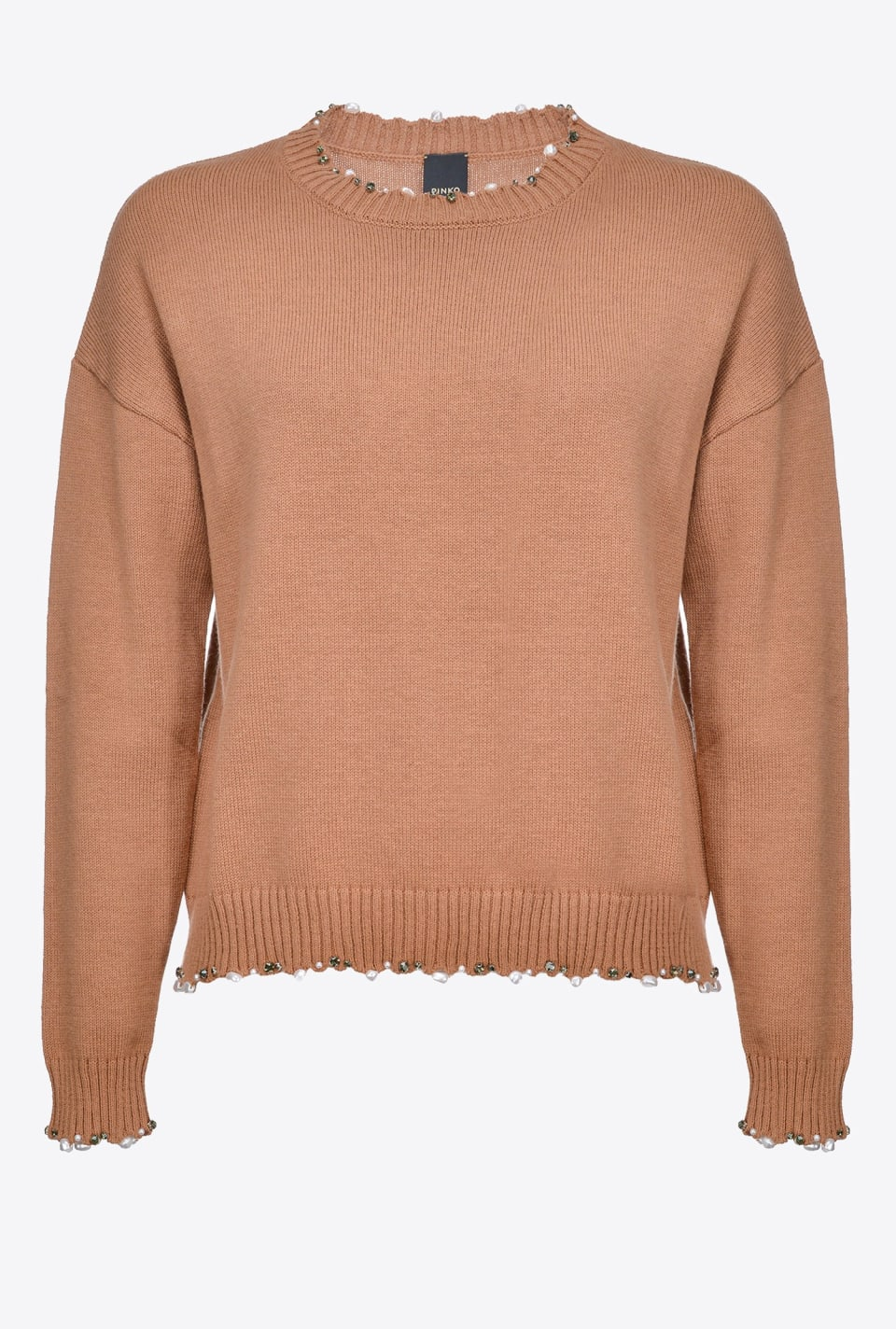 Sweater with pearls - Pinko
