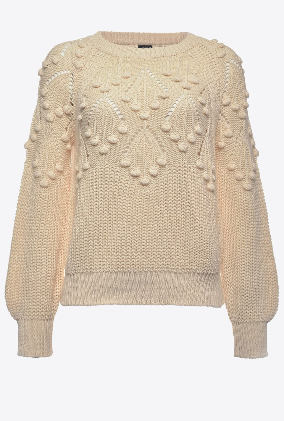 Pullover with pompoms - Pinko