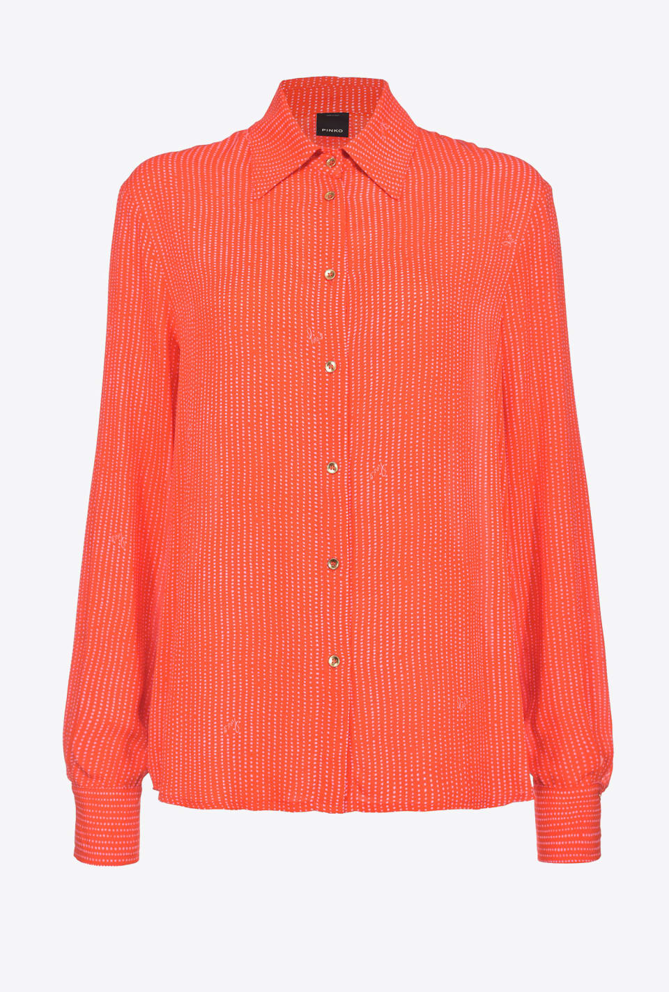 Floral crêpe de chine shirt - Pinko