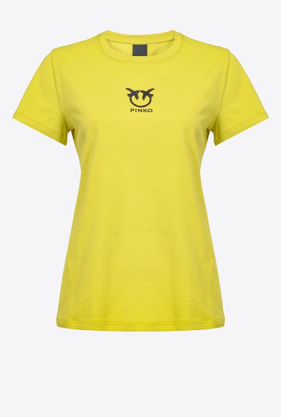 Love Birds logo T-shirt - Pinko