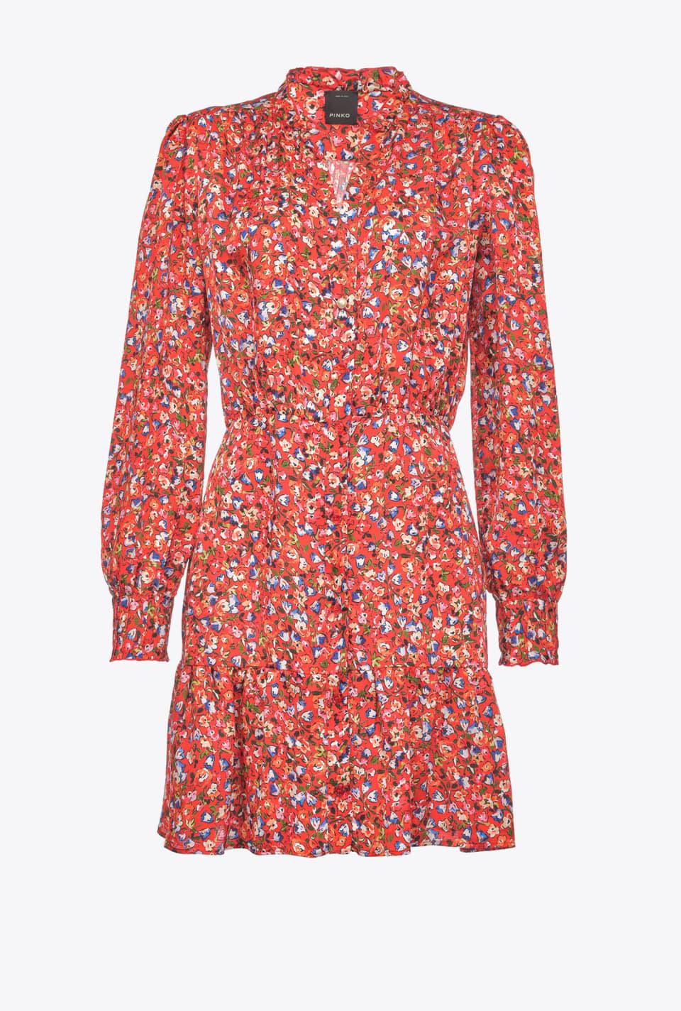 Robe à petit imprimé floral - Pinko