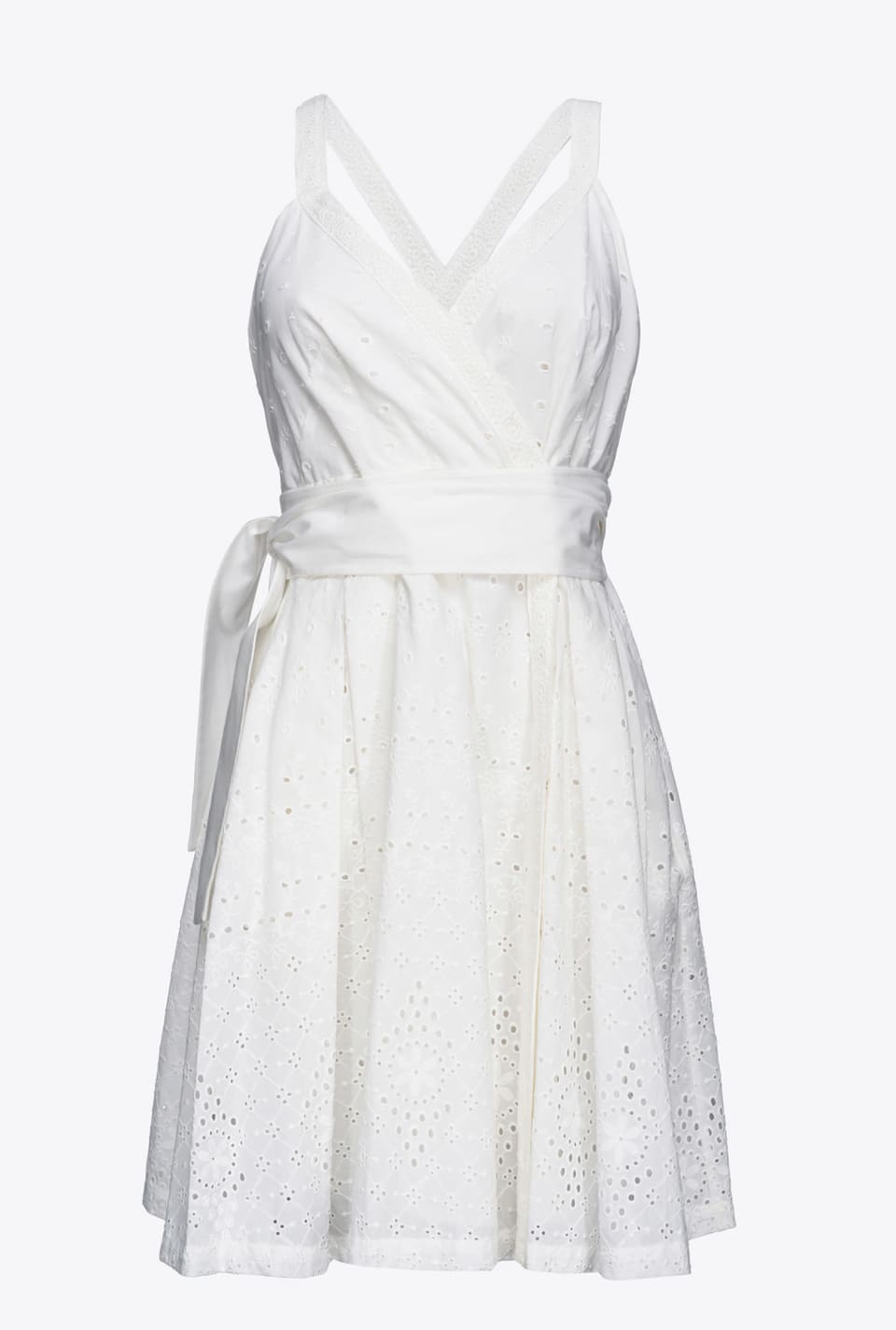 Short broderie anglaise dress - Pinko