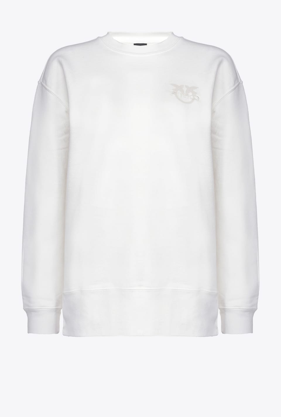 Sweatshirt in organic cotton - Pinko