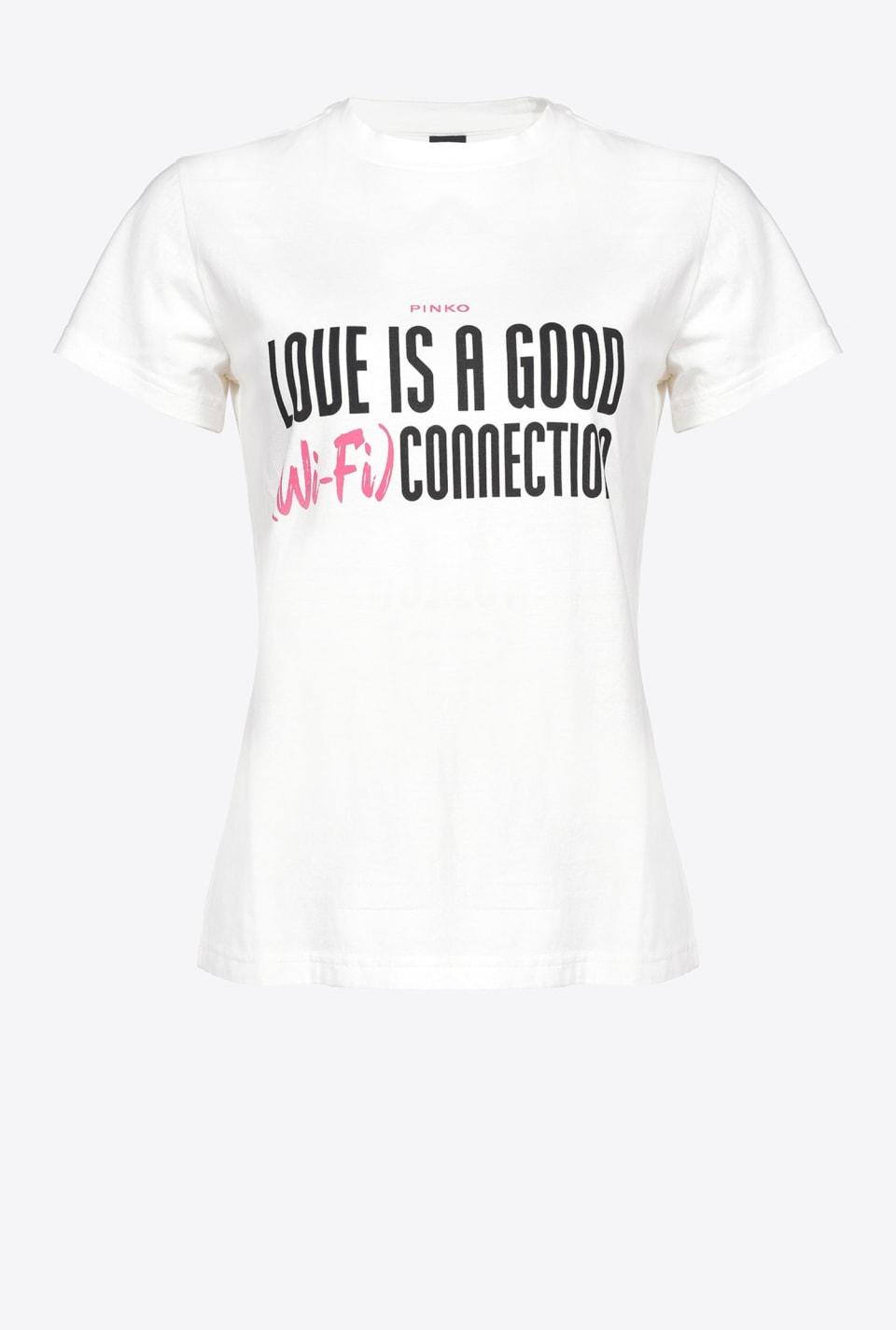 字母T恤 - Pinko