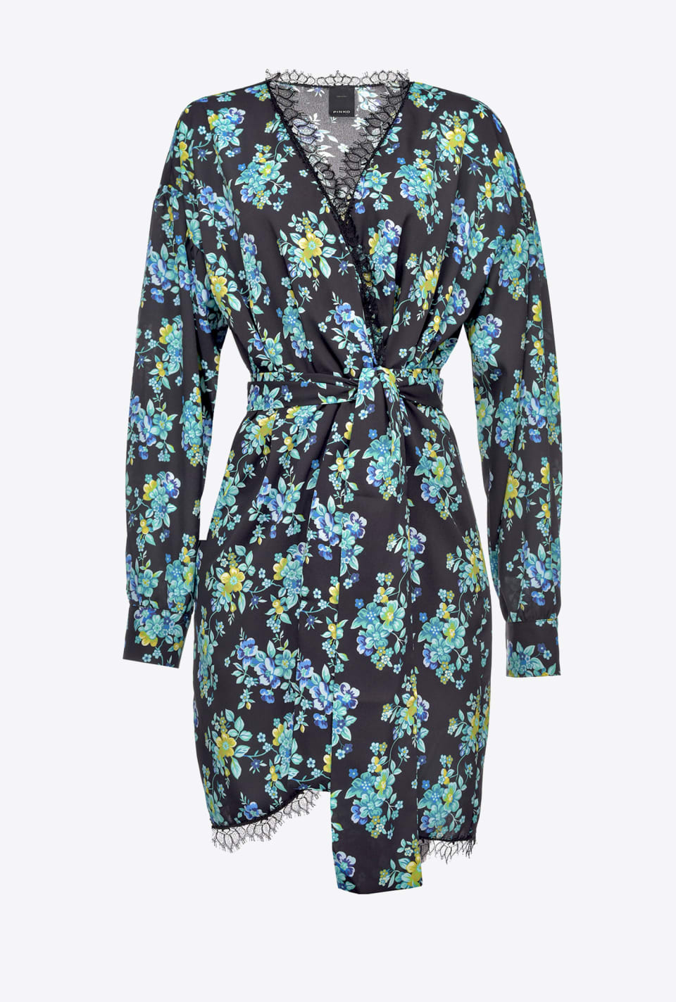 Belted floral dress - Pinko