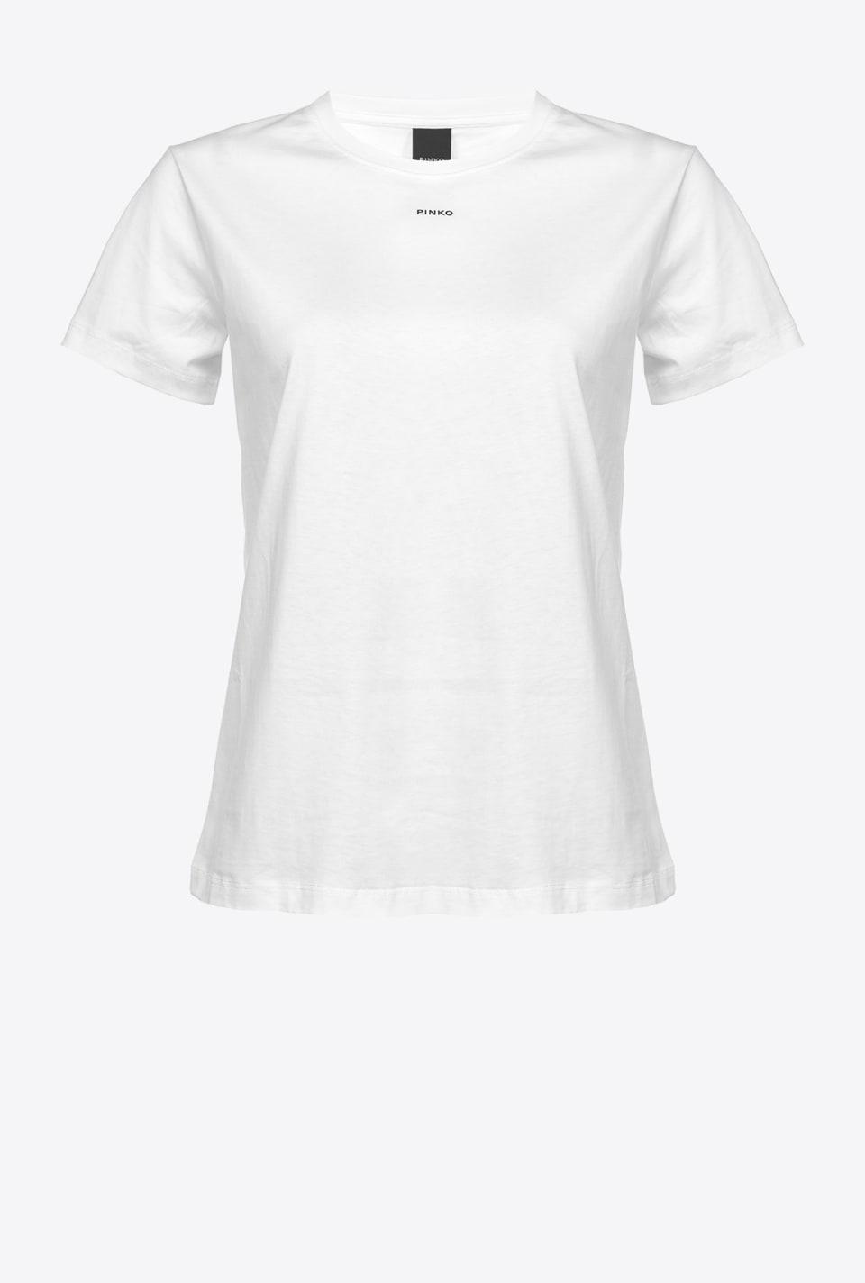 T-shirt with micro PINKO logo - Pinko