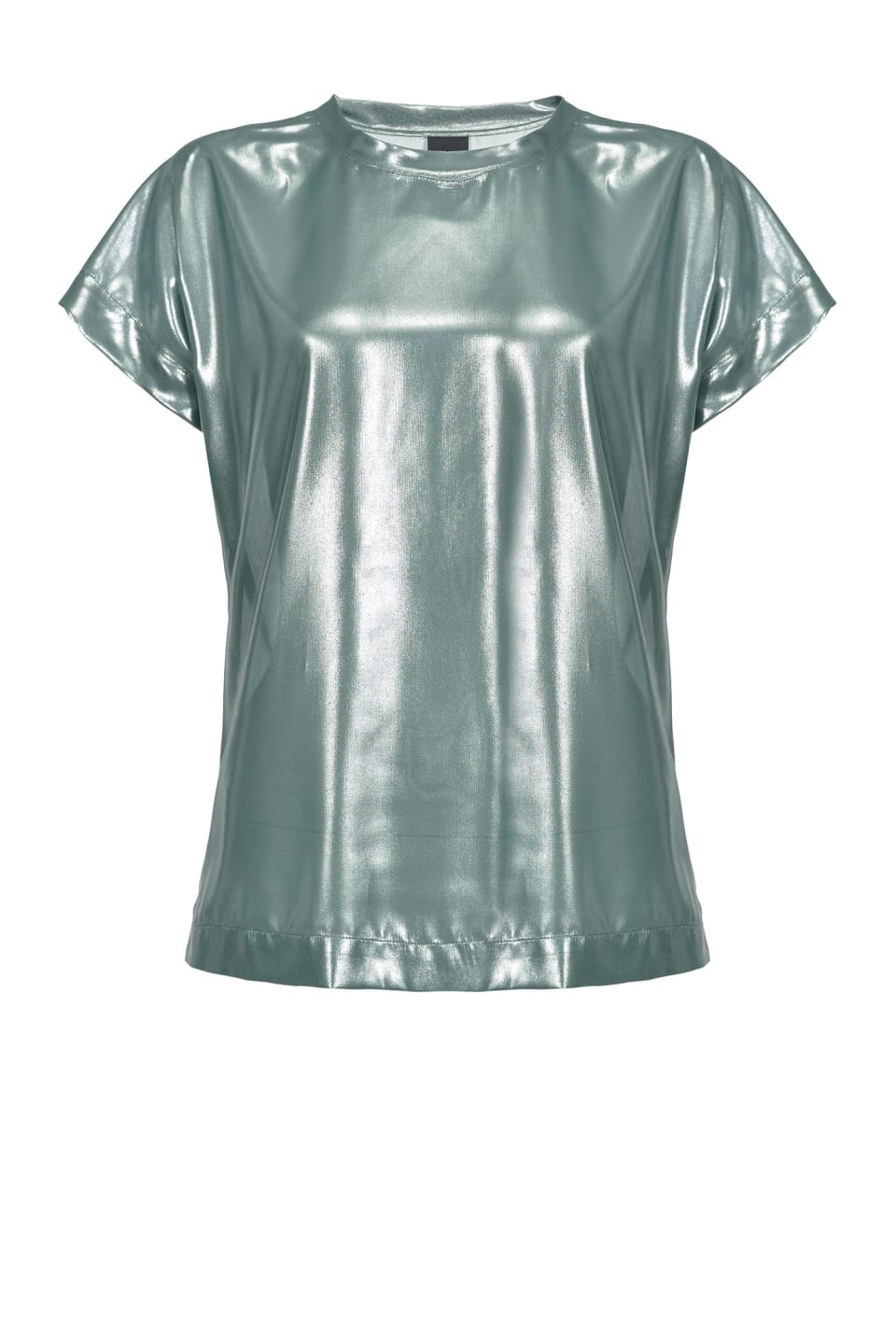 Laminated georgette top - Pinko