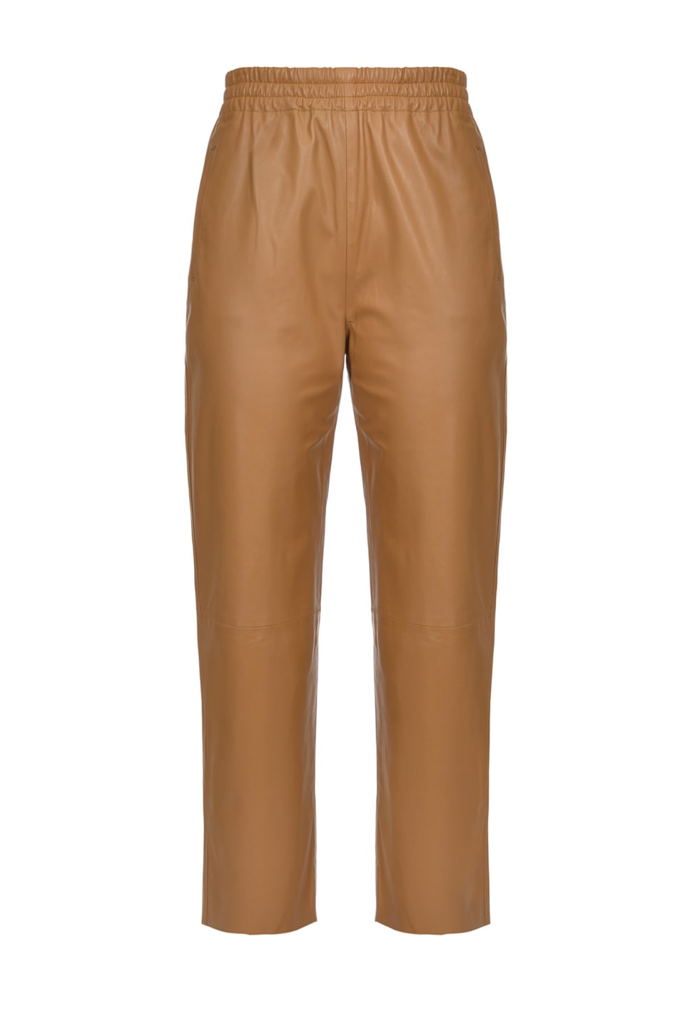 Ultralight leather trousers - Pinko