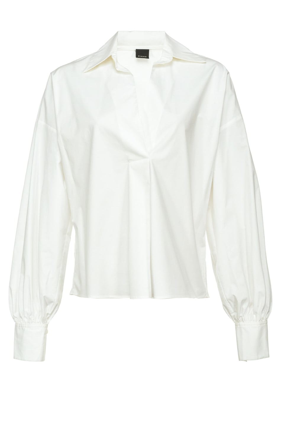 Blouse en popeline stretch - Pinko