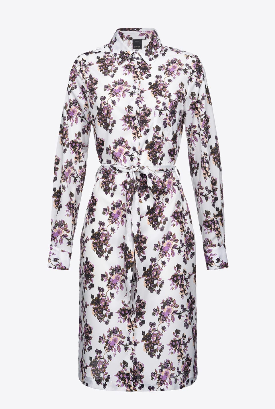 Floral shirtwaister dress - Pinko