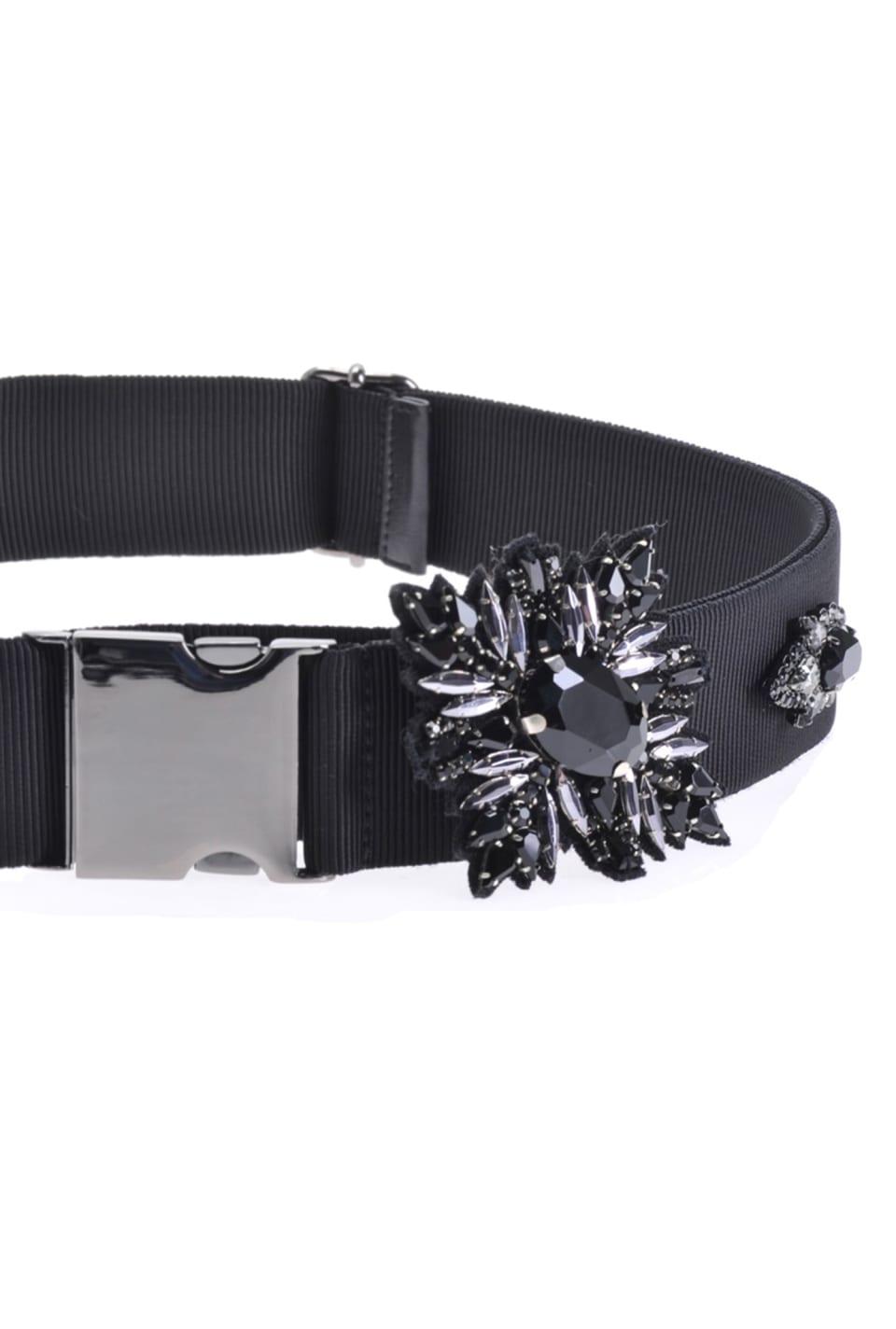 Belt with jewel details