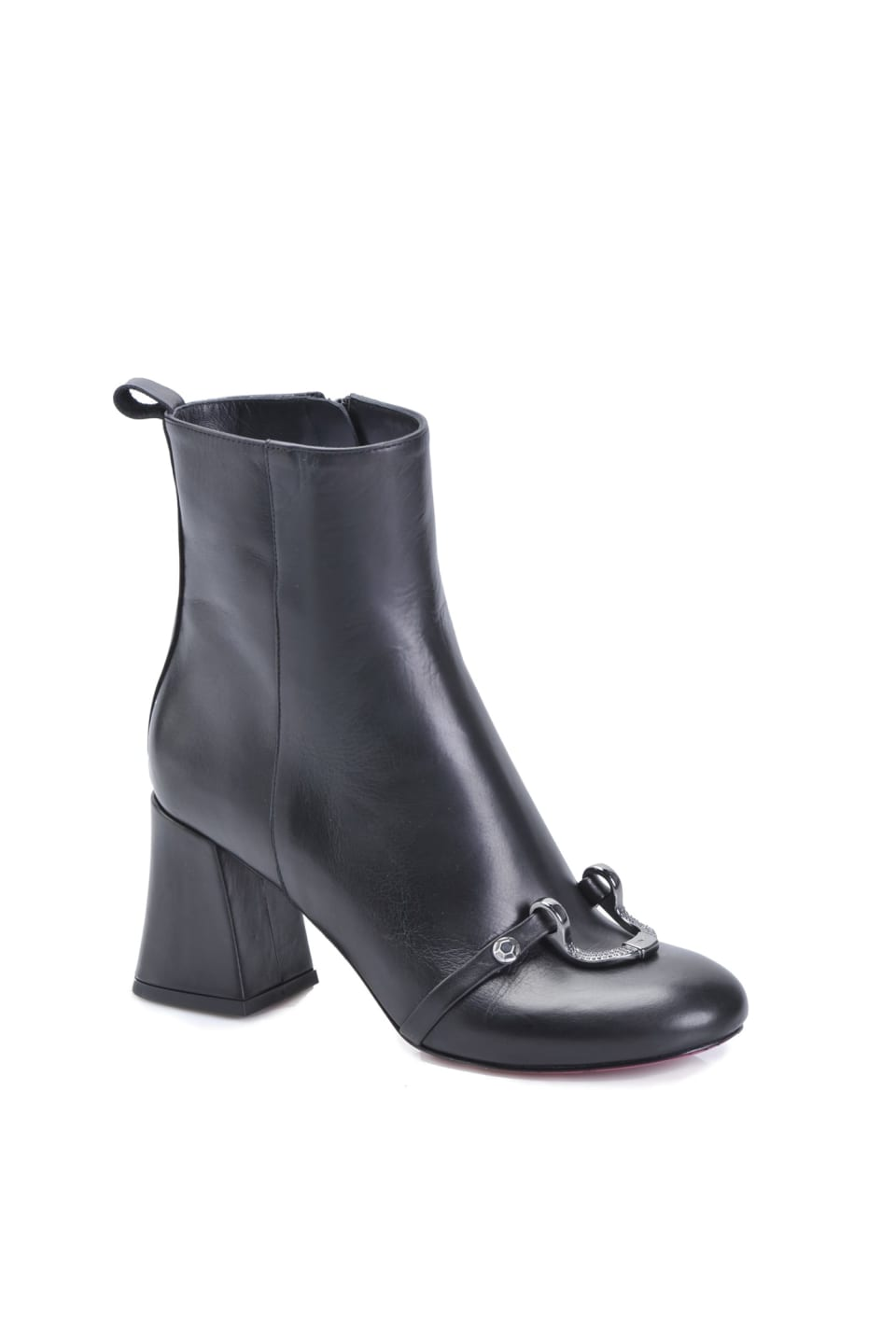 Ankle boots in pelle
