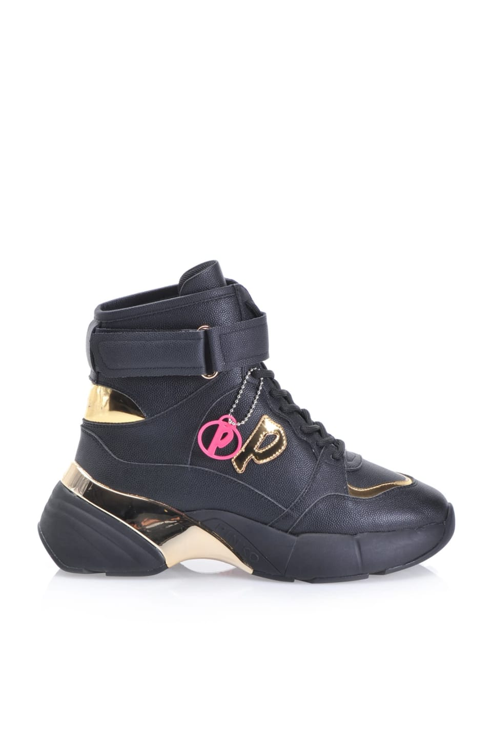 Shoes To Rock high top sneakers with laminated details