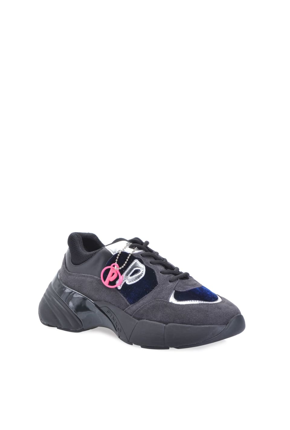 Sneakers Shoes To Rock en cuir et velours