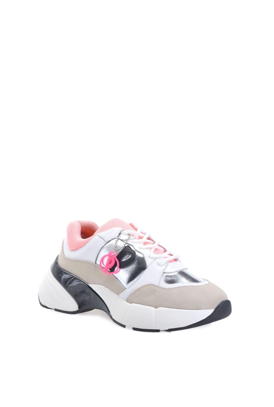 Zapatillas deportivas Shoes to Rock de ante y piel laminada